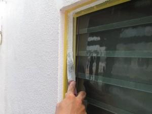 窓廻りシーリング作業⑩