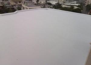 施工事例:沖縄市のアパートにて屋上防水工事☆